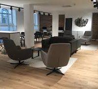 Hanson Lee Office Meeting Area